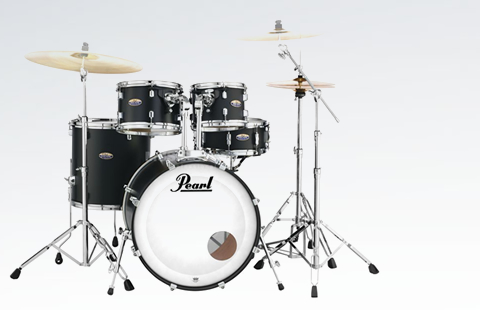 Ver Bateria acústica Pearl Decade Maple Studio BK Burst