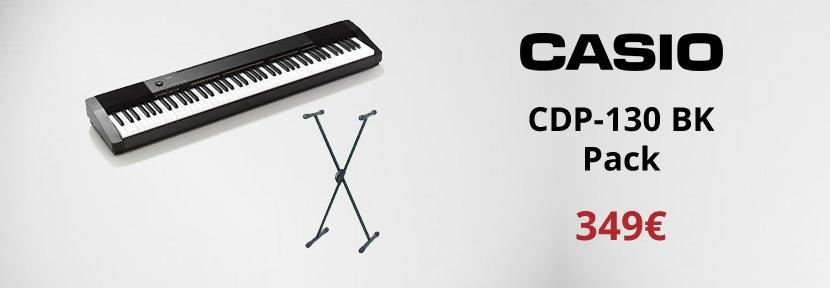 Casio CDP-130 BK Pack