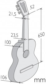 Características Alhambra Luthier Aniversario