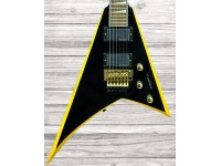 Jackson RRX24 Black w/Yellow Bevels