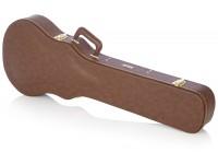 Gator GW-LP-BROWN  Robusto estuche de construcción;  Espuma de felpa forrada y acolchada desde el interior con compartimento de almacenamiento;  Con cerradura y mango acolchado de diseño ergonómico;