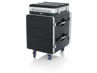 Gator GRC-10X12 PU  Rack Case con sistema emergente para consola