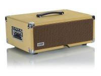 Gator GR-RETRORACK-3TW Vintage Amp Vibe Rack Case - 3U Tweed
