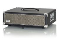 Gator GR-RETRORACK-2BK Vintage Amp Vibe Rack Case - 2U Black