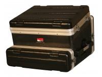 Gator GRC-8X2  Estante de fibra 3D Gator GRC-8X2 - 2-8 unidades - 2 puertas + apertura de mesa - en polietileno abs