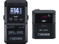 Sistema sem fios para guitarra BOSS WL-60 Wireless System