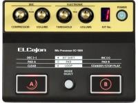 Roland EC-10M Modulo de Sons para Cajon Acústico com Microfone incluido Mejore su sonido y agregue nueva expresividad a sus interpretaciones de cajón acústico El procesador de micrófono EC-10M ELCajon ( microprocesador ) es una herramienta creativa innovadora y única desarrollada para cajón acústico. Compacto y alimentado por batería, el EC-10M captura el sonido acústico del cajón con su micrófono de condensador de clip, que también sirve como disparador para los diversos sonidos en el circuito, agregando capas al sonido acústico. Puede enviar ambos sonidos a un amplificador o PA, controlando completamente su sonido en el escenario. También es posible crear frases rítmicas con el loop looper y reproducir sonidos adicionales usando los pedales A / B o los disparadores opcionales del pedal de batería. Dondequiera que toque, el EC-10M convierte la experiencia del cajón acústico en un mundo de nuevo poder expresivo.