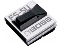 "BOSS FS-5U Pedal Footswitch Jefe FS-5U Conector: Jack 1/4 "" estándar P10 Poder: pasivo Dimensiones: 9,6 x 9 x 4,3 Peso: 0,2 kilogramos"