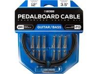 BOSS BCK-12 Solderless Pedalboard Cable Kit 3.5m