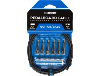 BOSS BCK-6 Solderless Pedalboard Cable Kit 1.5m