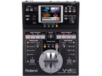 Roland V-4EX 4-Channel Video Mixer   Mixer de vídeo completo com entrada/saída HDMI, streaming via USB e multivisualizador integrado com controle por toque.