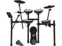 Bateria Eléctrica Roland TD-07KV E-Drum Double Mesh Head Kit  História +20 Anos Inovação Roland V-Drums