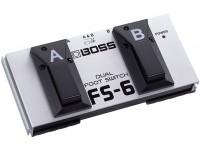 Comutador BOSS FS-6 Pedal Dual Footswitch Pedal interruptor BOSS FS6 negro