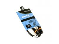 Accu-Cable AC-DMX3/1,5  DMX 3 Pin XLR MACHO PARA HEMBRA Plomo 1.5 Metros