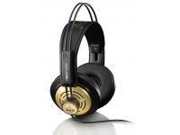 AKG K121   Tipo de auscultador: Semi-aberto  Largura de banda de frequência de áudio: 22500-18 Hz  Sensibilidade: 101dB SPL/V  Max Input Power: 200mW  Pontuação: impedância: 55 Ohms  Cabo destacável: Não  Comprimento do cabo: 3 m
