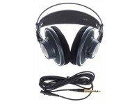 HeadPhones AKG K702Para audição precisão, mixagem e masterizaçãoMax. Poder de entrada de 200 mWlargura de banda freqüência áudio 10-39.800 HzSensibilidade 105 dB SPL / V