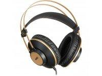 HeadPhones AKG K92  Para monitorização de som ao vivo, salas de ensaio, e estúdios de gravação   Tipo de auscultador: Fechado  Largura de banda frequência áudio: 16 Hz - 20 kHz  Sensibilidade fones: 113 dB