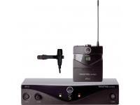 Sistema sem fio com microfone lapela AKG PW45 Presenter   Sistema sem fios com microfone lapelaAKG PW45 Presenter -Percepção de alto desempenho - Frequência ági dol sistema de microfone sem fio - Incluindo a SR45 Stationary Receiver