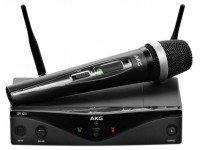 Sistema sem fios com microfone de mão AKG WMS420 Vocal  Sistemas sem fios com microfone de mãoAKG WMS420 Vocal -AKG WMS 420 Vocal Set Banda D - UHF Wireless- System - True Diversity - Até 3 frequências paralelo