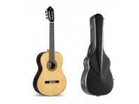 Alhambra 11 P  Guitarra Clássica 4/4 Alhambra 11P Natural com estojo incluído