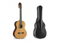 Alhambra 9P   Guitarra Clássica 4/4 Alhambra 9P Natural com estojo incluído