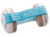 """Alpine Muffy Baby Gehörschutz Blue  Alpine Muffy Baby Gehörschutz Azul  Protege contra ruidos peligrosos y música ruidosa.  Previene la estimulación adicional del niño causada por el ruido y permite dormir tranquilo cuando viaja  Fácilmente ajustable, se adapta y """"crece"""" con el niño  Muy cómodo, gracias a la banda elástica y suave.  No ejerce presión sobre el oído del niño.  La única orejera infantil con certificación CE en Europa  Disponible en 2 colores.  Con 2 cintas para la cabeza  Lavado fácil  No contiene piezas metálicas (se puede usar en imágenes de resonancia magnética)  Con una práctica bolsa Protect & Go  Diseño holandés"""