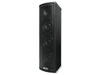 Alto Trouper   O Trouper é um sistema PA compacto com Bluetooth de alto desempenho que cumpre perfeitamente as demandas exclusivas de artistas solo e pequenos conjuntos.