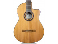 Guitarra Clássica (adulto) 4/4 APC 1C CW  Guitarra Clássica APC 1C CW - Tampo: Cedro Maciço - Aros e Fundo: Sapelli - Braço: Mogno - Escala: African Blackwood - Acabamento: Alto Brilho