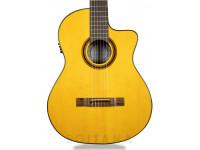Guitarra de Flamenco APC 5F CW  Guitarra flamenca APC 5F CW  - Parte superior: abeto macizo  - Aros y fondo: arce  - Mástil: caoba  - Escala: Blackwood africano  - Acabado: alto brillo