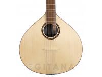 APC GF312 CB  Guitarra Portuguesa Coimbra APC GF312 CB - Tampo Spruce Maciço - Aros e Fundo Pau Santo Maciço - Braço Mogno - Escala African Blackwood *Estojo Incluído
