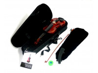 Violino 1/4 Ashton AV142AVN B-Stock  Violino 1/4 Completo Natural AV142 AVN   Com estojo e arco  Inclui resina  Cor Natural