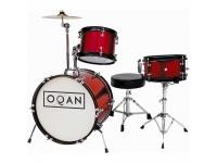 bateria acústica Bateria acústica OQAN INFANTIL RED QPA-3
