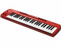 Teclados MIDI Controladores Behringer Teclado MIDI-USB UMX490  Teclado MIDI-USB UMX490  teclado controlador sensível à velocidade, com 49 teclas full-size para programação e controlo em tempo real; interface USB; compatibilidade com PC e Mac; oito controlos rotativos em tempo real; 10 botões programáveis; software energyXT2.5 Compact Behringer Edition incluído; módulo de som intuitivo NI KorePlayer com biblioteca de sons; gama completa de 128 tons através da oitava função com indicação de Multipurpose; saídas de MIDI separadas..