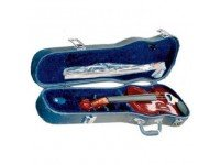 Violino 1/4 Bernard PSI 005VN 1/4   Violino com estojo  Inclui arco e resina  cordal com 4 microafinadores