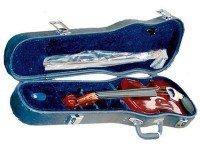 Violino 3/4 Bernard PSI005VN 3/4   Tamanho 3/4  Com Estojo, Arco e Resina  Cordal com 4 microafinadores.