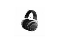 Beyerdynamic Amiron Wireless  Auriculares inalámbricos de alta gama: tecnología Tesla, panel táctil y micrófono integrados en el auricular derecho, inalámbrico a través de Bluetooth, dinámico, cerrado, diseño sobre la oreja, impedancia de 32 ohmios, respuesta de frecuencia 5 - 40000 Hz, más de Tiempo de funcionamiento de 30 h, incluye cable de 1.2 m con control remoto, micrófono y enchufe de 3.5 mm (4 in), cable de carga USB y tapa dura, peso: 380 g