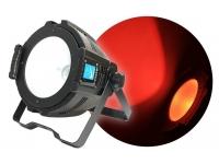 Big Dipper PAR LED COB 200W RGB  PAR LED COB RGB 200W  Excepcional ángulo de apertura de 90 grados  El chip COB de 200 vatios garantiza una potencia increíble para su uso en escenarios, fachadas de edificios, estructuras, etc.  Excelente mezcla de colores. Permite obtener colores cálidos, blancos fríos, claros y sin sombras.  Estructura de aluminio con doble abrazadera. Medidas: 297 x 237 x 229 mm.  DMX 2, 4 y 7 modos de canal  Modo automático, colores estáticos, modo de sonido, DMX.  Control de velocidad del ventilador de enfriamiento.  Panel trasero con pantalla digital y señal incorporada de 1 metro de largo y cables de alimentación.