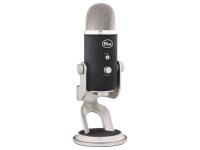 Blue Yeti Pro Studio   O sistema vocal do estúdio Yeti Pro Studio All-In-One Pro da Blue possui um microfone USB e XLR Blue Yeti Pro, software de gravação multi-pista PreSonus e software de processamento vocal iZotope. É um sistema de estúdio profissional fácil de usar para gravar vocais, música, instrumentos e muito mais.