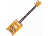 """Bohemian Oil Can BG15 TNT   Guitarra Eléctrica Bohemian Guitars Oil Can BG15 TNT.  Corpo: Lata de Óleo com estrutura em Madeira  Braço: Acer/Maple  Escala: Acer/Maple 25.5"""" (648 mm); Raio: 12"""" (305 mm); Pente: 42.5 mm  Neckjoint: Through-Body  Inlays: Preto  Cutaway: 21  Ferragens: Hardware: Cromado  Trastos: 21  Electrónica: Passiva"""