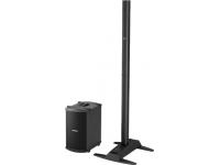 Bose L1 Model II/B2  Sistema de PA Portátil Bose L1 Model II Com Módulo B2    Recomendado para audiências até 500 pessoas  O arranjo de linhas articuladas de 24 altofalantes oferece cobertura de som horizontal de 180 graus  Produz o equilíbrio tonal mais consistente com pouca queda de volume em relação à distância