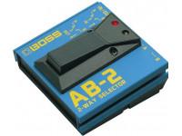 Comutador BOSS AB-2 Pedal Comutador 2 Canais