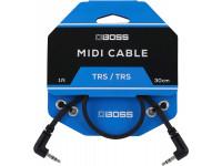 Cabo mini-jack BOSS BCC-1-3535 TRS/TRS Cabo MIDI Mini-Jack stereo 30cm   Compra os teus Cabos BOSS na Egitana, Fazemos Entregas Rápidas, Somos uma Loja Portuguesa - Garantia Vitalicia da BOSS.