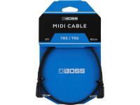 Cabo mini-jack BOSS BCC-2-3535 TRS/TRS Cabo MIDI Mini-Jack stereo 60cm    Compra os teus Cabos BOSS na Egitana, Fazemos Entregas Rápidas, Somos uma Loja Portuguesa - Garantia Vitalicia da BOSS.