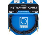 Cabo para guitarra BOSS BIC-15 Cabo Jack Premium 4.5m   Compra os teus Cabos BOSS na Egitana, Fazemos Entregas Rápidas, Somos uma Loja Portuguesa - Garantia Vitalicia da BOSS.