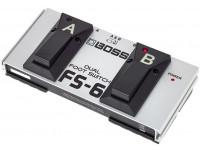 Comutador BOSS FS-6 Pedal Footswitch Duplo