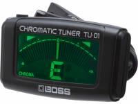 Boss TU-01  Afinador guitarra Boss TU-01 - Compacto e intuitivo clip-on