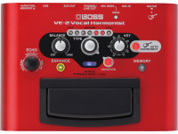 Processador de Voz BOSS VE-2 Processador de Voz Harmonist B-Stock