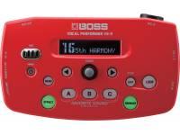 Processador de Voz BOSS VE-5 RD Processador de Voz BOSS VE5 RD Procesador de armonizador de voz rojo Intérprete vocal
