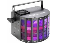 Cameo SUPERFLY XS  Cameo SUPERFLY XS - Efecto Derby 2 en 1 y luz estroboscópica incl. IR-Remote