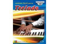 Método para aprendizagem Carisch Método Fácil para Teclado com CD  Método para Aprendizagem Carisch Método Fácil para Teclado com CD - Idioma Português - 34 páginas - Instrumento Teclado - Autor